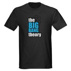 Amazon.com: The Big Bang Theory Humor Dark T-Shirt by CafePress: Clothing