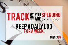 This helped me enormously to become more productive! Keep a log on how you are spending your time. #tip #time #timetracking #productivity #quote