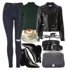 """""""Untitled #5588"""" by rachellouisewilliamson on Polyvore featuring Topshop, Yves Saint Laurent, Free People, Isabel Marant, Proenza Schouler and Marc by Marc Jacobs"""