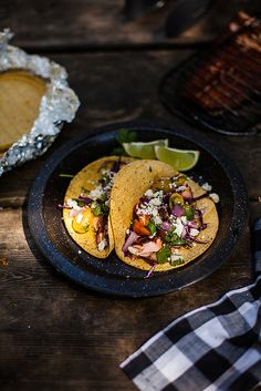 Campfire Cooking: Grilled Salmon Tacos | The Year In Food