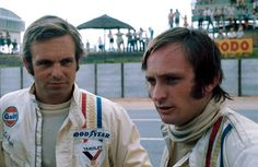Peter Revson and Chris Amon