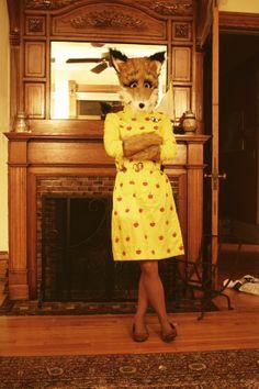 fantastic mr fox costume idea. Love!