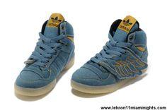 Latest Listing Discount Kids Adidas Jeremy Scott Wings Denim Shoes Sports Shoes Store