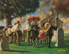 Sarah Jenkins (Uncle Joe's Funeral) Art Poster Print Print at AllPosters.com