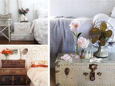 Comodini..con valigie vintage - A Casa di Ro