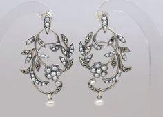 Pendientes Lyon de López-Linares Vintage Jewelry. Perfectos para una novia.