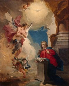 Annunciation - Giovanni Battista Tiepolo - 1725