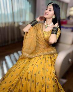 Indian designer yellow lehenga choli for wedding outfits For order whatsapp us on wedding outfits wedding dress wedding dresses lengha lehnga sabyasachi manish malhotra Lehnga Dress, Lehenga Choli, Anarkali, Lehenga Style, Indian Bridal Lehenga, Indian Beauty Saree, Wedding Lehnga, Wedding Dresses, Pakistani Bridal