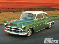 1953 Chevy Bel Air Three Quarter Front