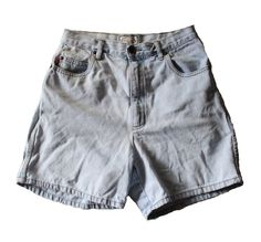 Vintage Early 90s BUGLE BOY for Her Denim Shorts Women M by bluebutterflyvintage on Etsy