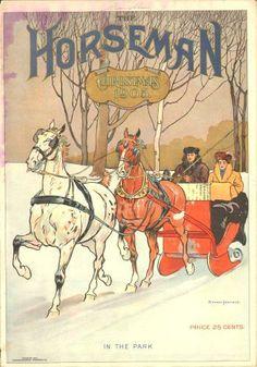 The Horseman Christmas 1905