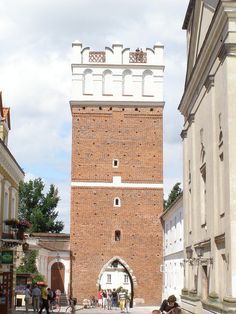 Opatów Gate, Sandomierz, Poland
