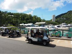Cruise around in a golf buggy… the perfect island transport. Last Holiday, Hamilton Island, Visit Australia, Luxury Accommodation, Things To Do, Cruise, Golf, Kids, Things To Make