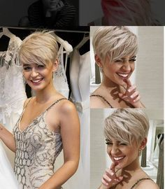 *** A mix of all sorts of cool short hairstyles! Who has to take a look at these pixie hairstyles?