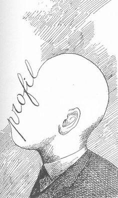 profil de Roland Topor Brain Illustration, Face Study, Roman Polanski, Humor Grafico, Illustrations And Posters, Designs To Draw, Les Oeuvres, Art Reference, Fine Art