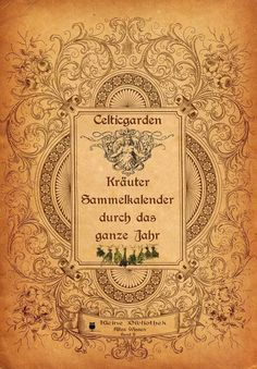 (Buchcover Kräutersammelkalender)