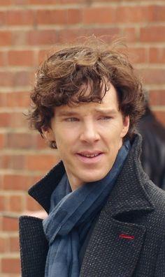 benedict cumberbatch's sherlock hair is the best hair.