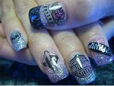 165 Best Harley Nails Images On Pinterest In 2018 Cute Nails