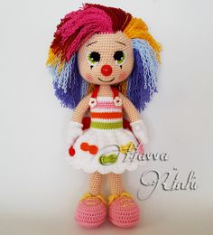 Ravelry: Miss Clown by Havva Ünlü