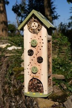 Luxe insectentoren, kopen - duurzaam insectenhotel in de tuin