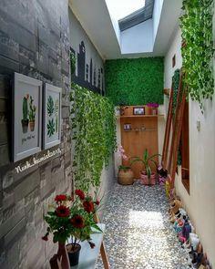 New this week: 12 modular kitchen design ideas for your home Interior Garden, Decor Interior Design, Interior Design Living Room, Interior And Exterior, Home Room Design, Home Design Plans, House Design, Minimalist Garden, Minimalist Home