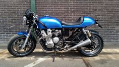 Honda sevenfifty build by DDM Service Renswoude Holland