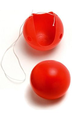 Red Plastic Clown Nose - Candy Apple Costumes