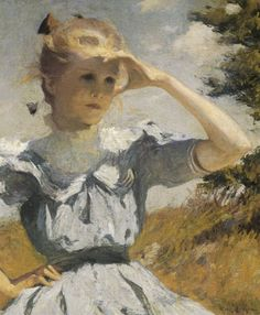 "Frank Weston Benson, ""Eleanor,"" 1901. Gift of the Estate of Mrs ..."