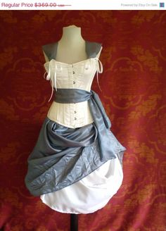Alice Corset Costume Oufit-Whole Corset Costume Outfit-MADE FOR BUYER