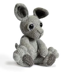 Buy Evie the Kangaroo amigurumi pattern - AmigurumiPatterns.net