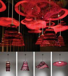 Artemide Launches Les Danseuses, Twirling Suspension Lamp