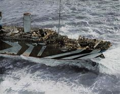 Olympic in dazzle camouflage while in service as a troopship during World War I