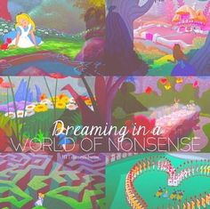 dreaming in world of nonsense