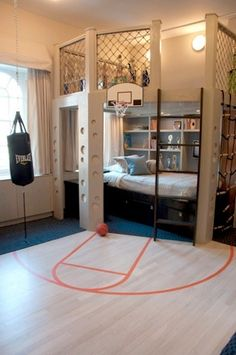 Crazy Kid Rooms/how cool would this be!