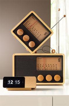Handcrafted Pine & Mahogany 'Magno' Radio, Medium | Nordstrom