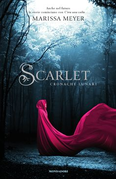 Scarlet by Marissa Meyer (The Italian Cover) Action Packed, Great characters and beautifully intertwined plot ★★★★★