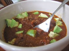 Paleo Chili (No Beans!). Very simple. Will give this a try!
