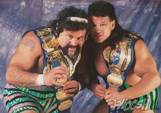 NWA World Tag Team Champions The Steiner Brothers