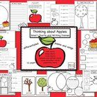 Apples: thinking-maps style unit with writing prompts