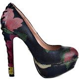 Betsey Johnson Ditan - Black Multi