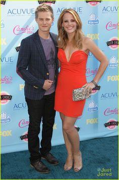 Lucas Grabeel & Katie Leclerc - Teen Choice Awards 2013