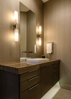 Island Cove - contemporary - bathroom - austin - Kelle Contine Interior Design, LLC