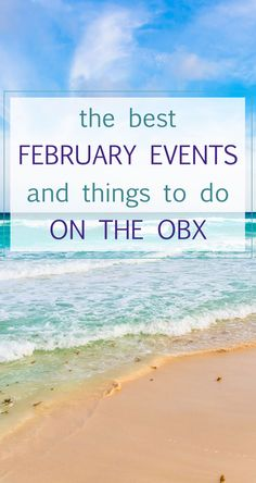 There's a lot to love on the OBX this month. See where to go and what to do on our blog.