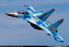 Sukhoi Su-27UB Ukraine - Air Force