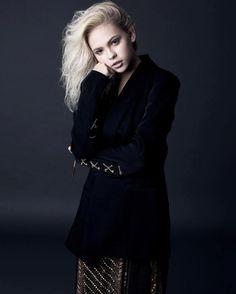 Jordyn Jones YSL Inspired Fashion Bonnie Nichoalds Photoshoot | JordynOnline…