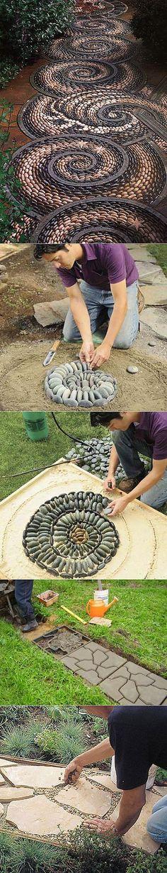 Садовые идеи - как красиво оформить участок..
