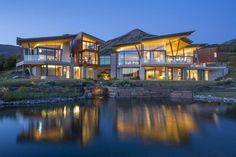 This $32 Million Rocky Mountain Retreat Is A Design Masterpiece. Telluride here we come.