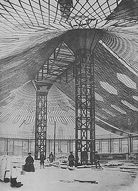 Tensile structure - Shukhov, 1895