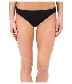 MICHAEL Michael Kors Womens Black Classic Bikini Bottoms Size Large
