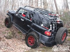 The Everyday Fj  Fj Cruiser Climbing Hill Photo 3